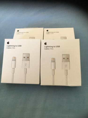 Lightning to USB Cable (1 m) photo review