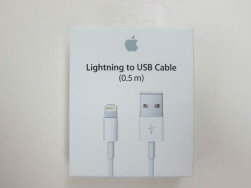 Lightning to USB Cable (0.5 m) photo review