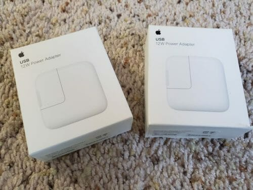 12W USB Power Adapter photo review